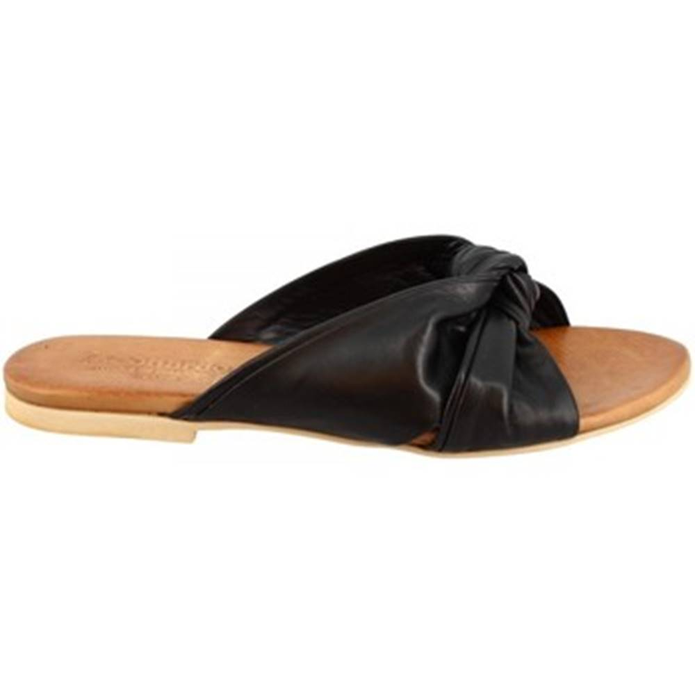 Leonardo Shoes Sandále Leonardo Shoes  PC139 CAPRA NERO
