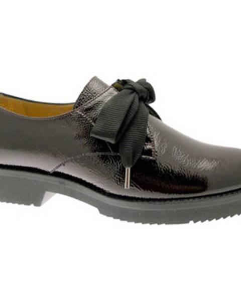 Čierne topánky Donna Soft