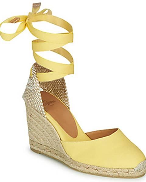Žlté topánky Castaner