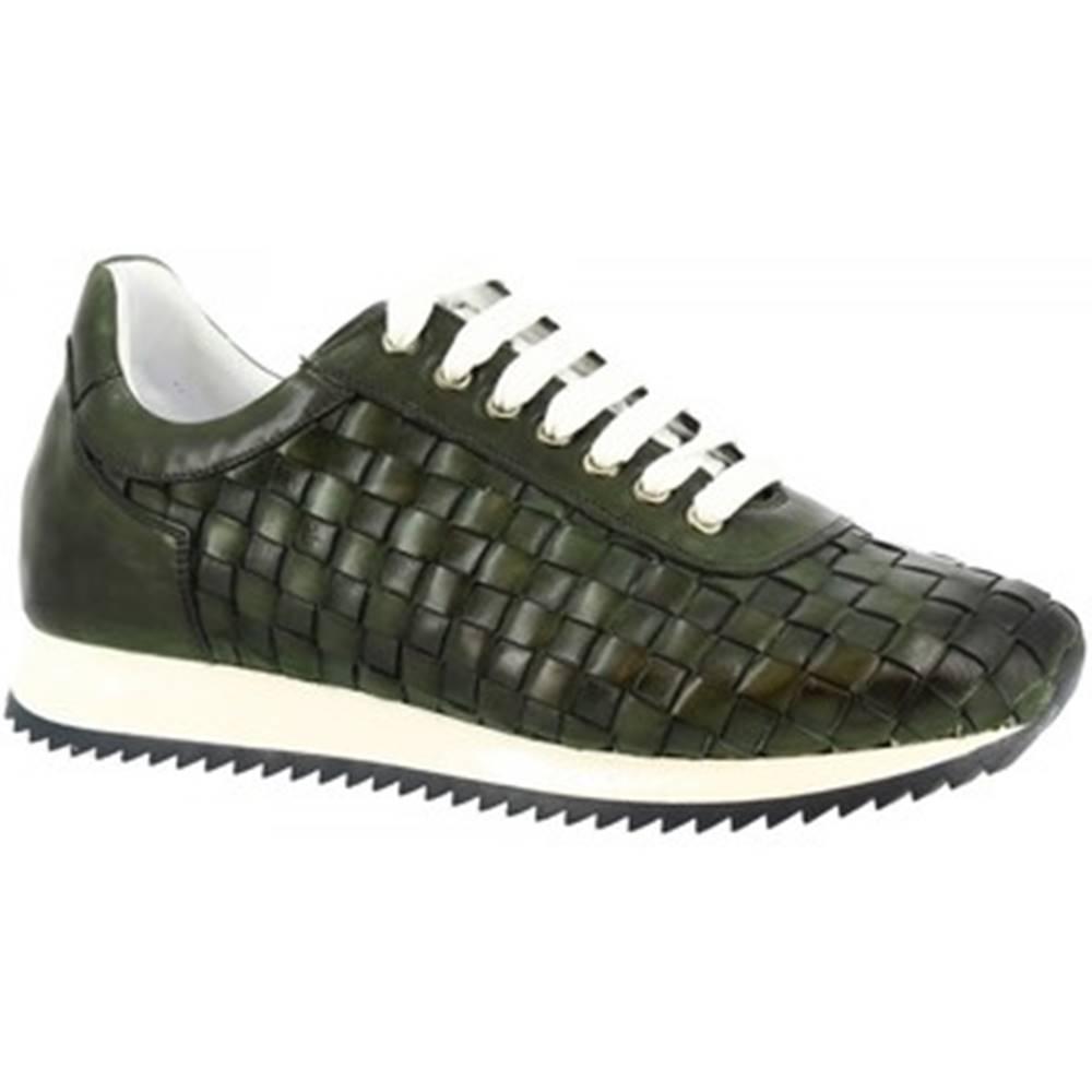 Leonardo Shoes Nízke tenisky Leonardo Shoes  9487E20 SIERRA AV VERDE