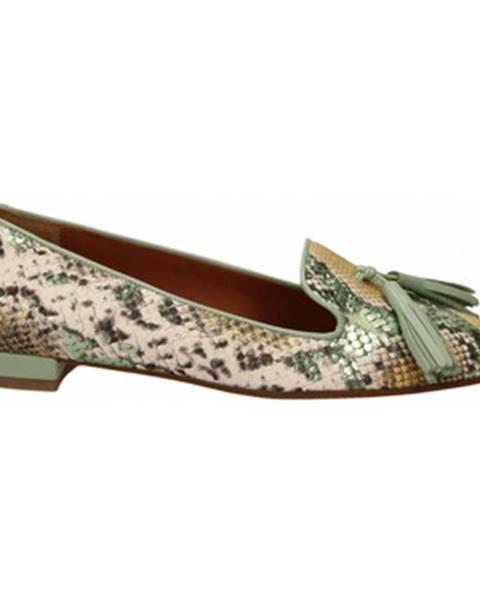Zelené topánky Andrea Zali