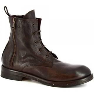 Čižmičky Leonardo Shoes  6918/100 MATRIX BRONZATO