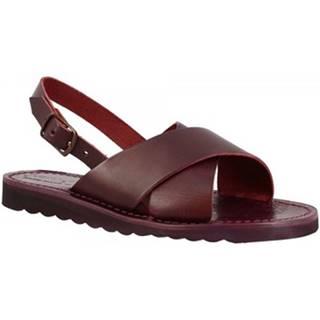 Sandále Leonardo Shoes  560 PRUGNA