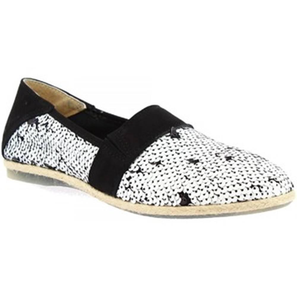 Leonardo Shoes Mokasíny Leonardo Shoes  CB01 PAILLETTES NERO