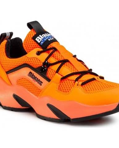 Oranžové tenisky Blauer