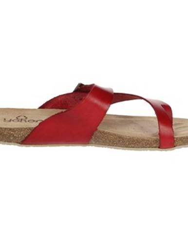 Červené topánky Yokono