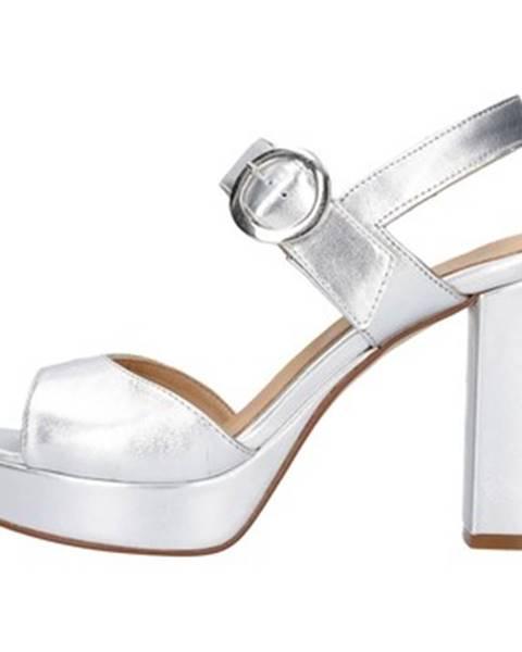 Strieborné topánky IGI CO