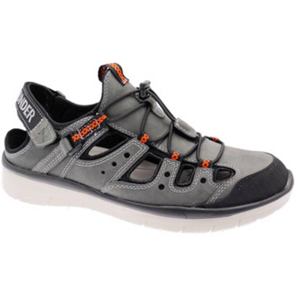 Allrounder by Mephisto Športové sandále Allrounder by Mephisto  MEPHMAROONgr