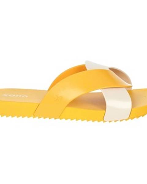 Žlté topánky Zaxy