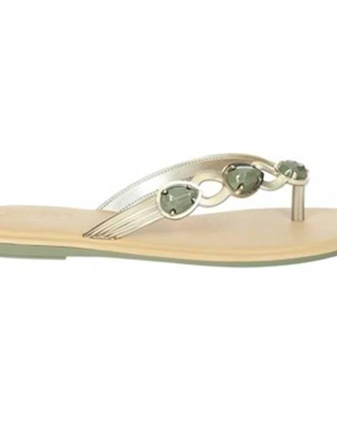 Béžové topánky Grendha