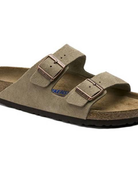 Béžové topánky Birkenstock