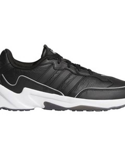 Čierne polokozačky adidas