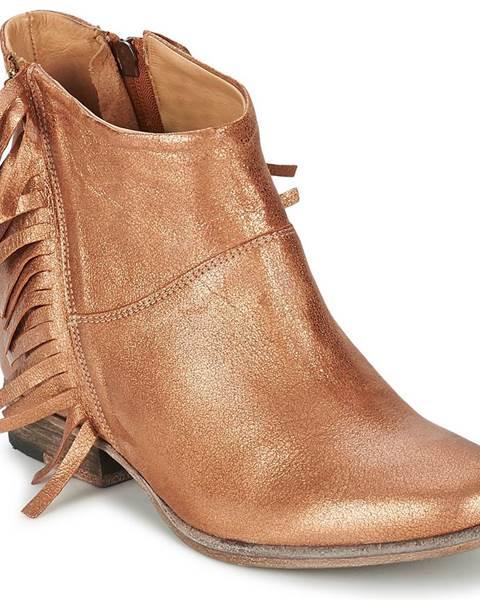 Hnedé topánky Catarina Martins
