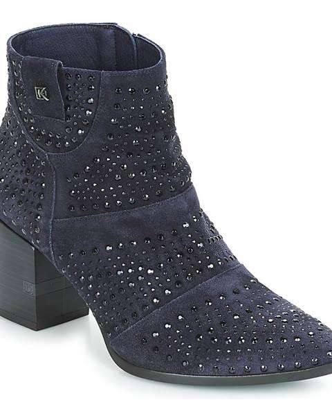 Modré topánky Dorking