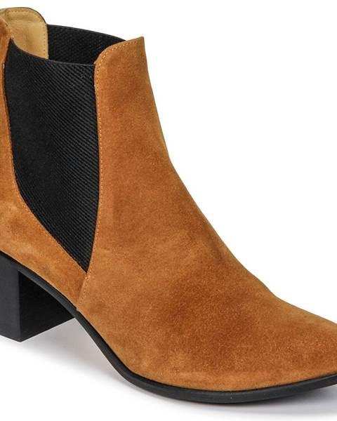 Hnedé topánky Emma Go