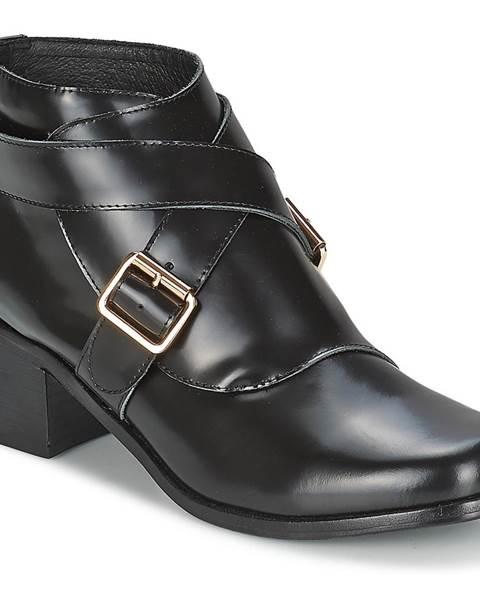 Čierne topánky F-Troupe