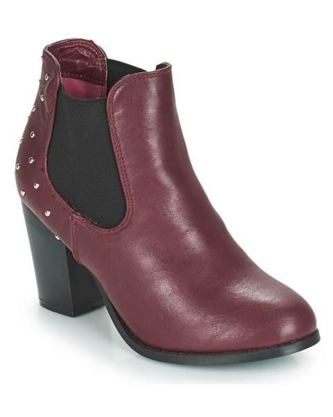 Červené topánky Moony Mood