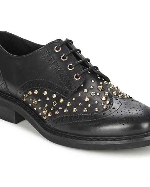 Čierne topánky Koah