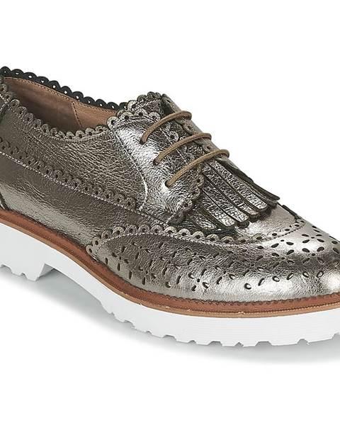 Strieborné topánky Mam'Zelle