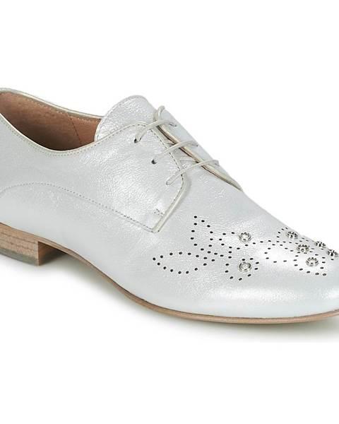 Strieborné topánky Muratti