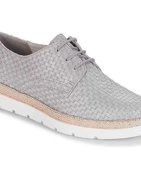 Strieborné topánky S.Oliver