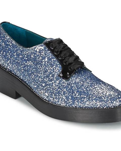 Modré topánky Sonia Rykiel