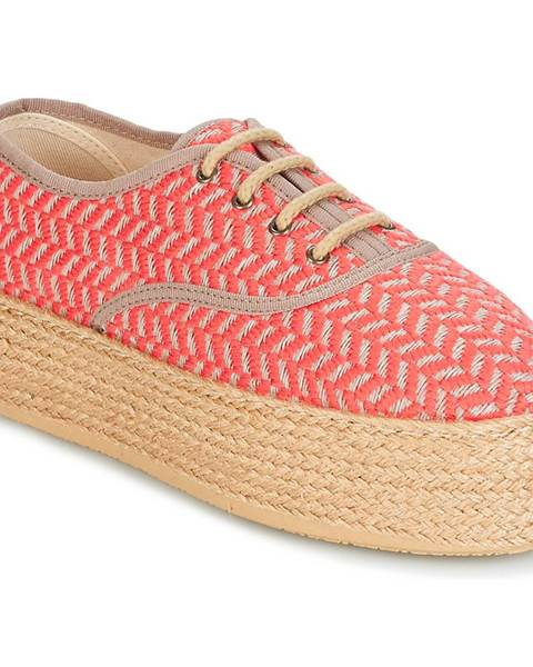 Ružové espadrilky Betty London