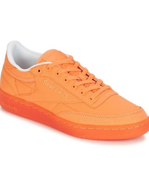 Oranžové tenisky Reebok Classic