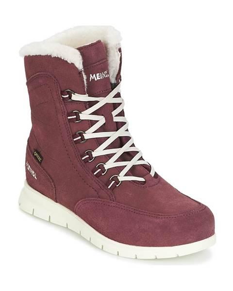 Fialové topánky Meindl
