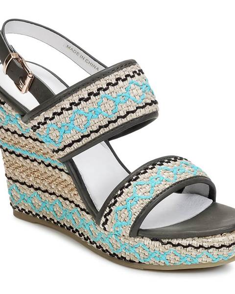 Viacfarebné sandále Café Noir