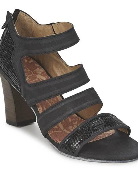 Čierne sandále Dkode