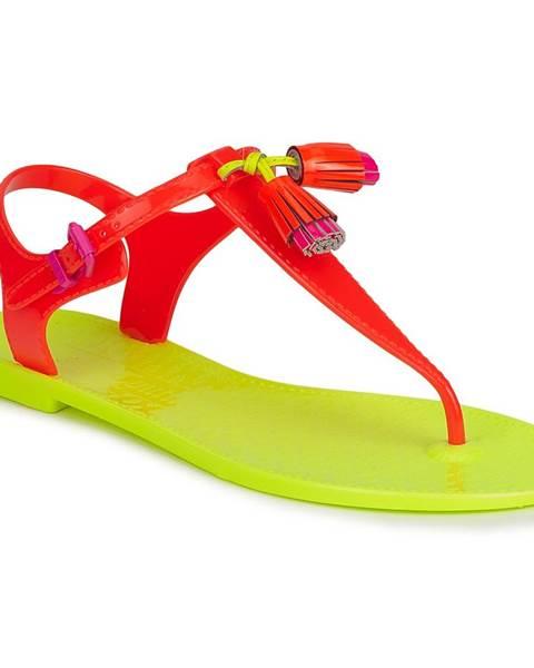Oranžové sandále Juicy Couture