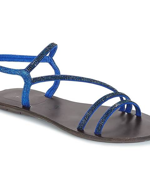 Modré sandále LPB Shoes
