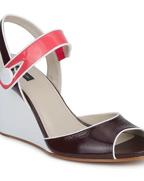 Fialové sandále Marc Jacobs
