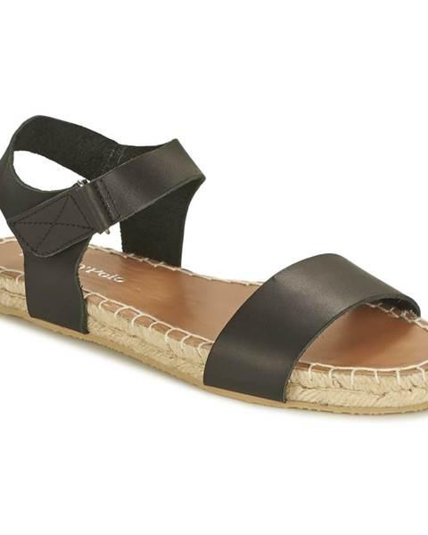 Čierne sandále Marc O'Polo