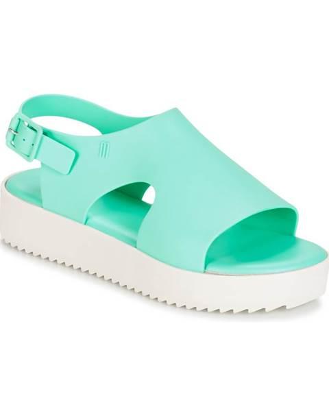 Zelené sandále Melissa