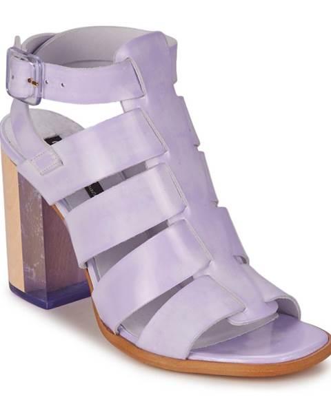 Fialové sandále Miista