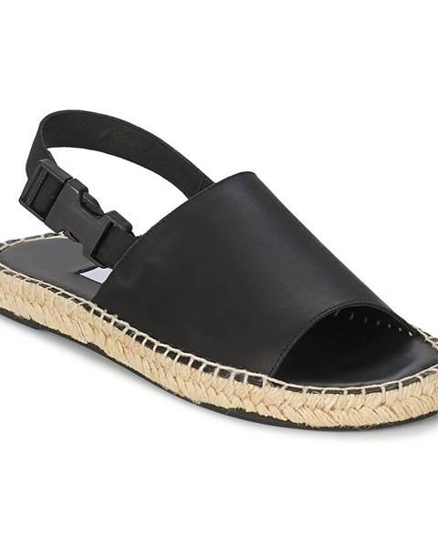 Čierne sandále Miista