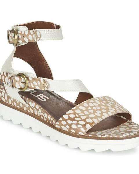 Béžové sandále Mjus