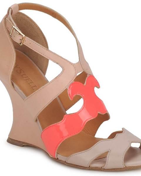 Béžové sandále MySuelly