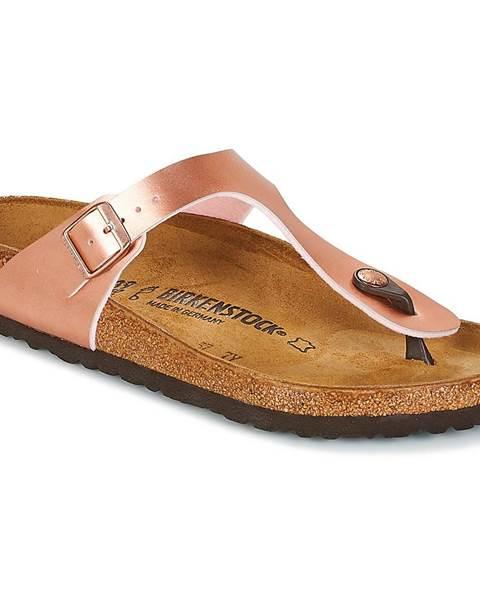 Ružové topánky Birkenstock