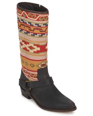 Hnedé čižmy Sancho Boots