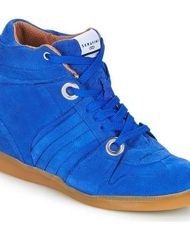 Modré tenisky Serafini