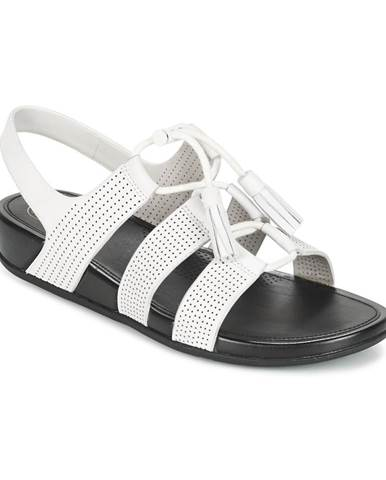 Biele sandále FitFlop