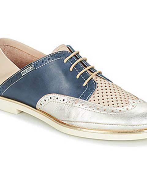 Modré topánky Pikolinos