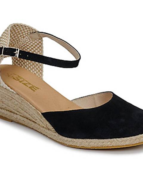 Modré sandále So Size