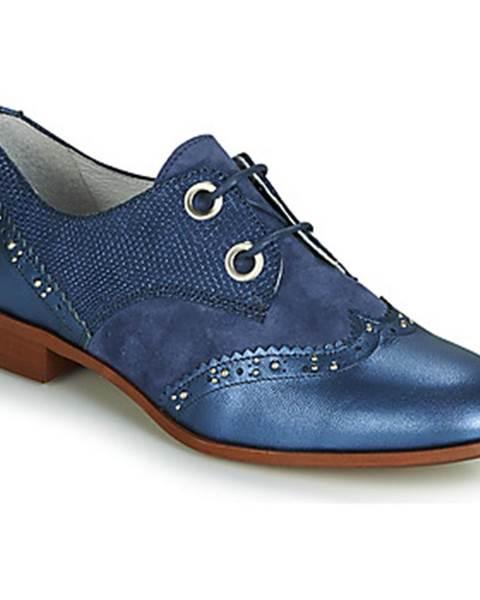 Modré topánky Regard
