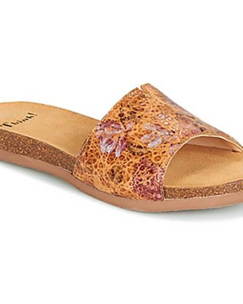 Hnedé topánky Think