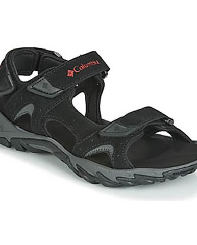 Čierne športové sandále Columbia