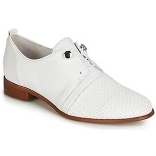 Nízka obuv do mesta Regard  REVALO V1 TRES NAPPA BLANC